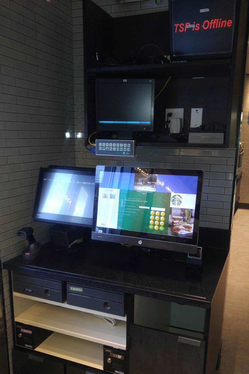 Point of Sale System Installation Starbucks 4